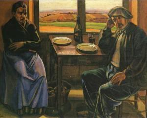 Contadini in Borgogna - Mario Tozzi