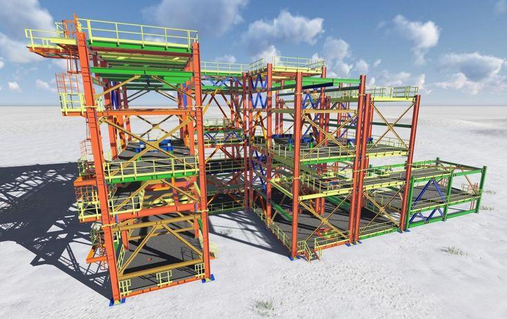 Modelado y Delineación Industrial en el Proyecto EPC 08565-NWR Sturgeon Refinery Project Units 50&60, Alberta (Canadá)
