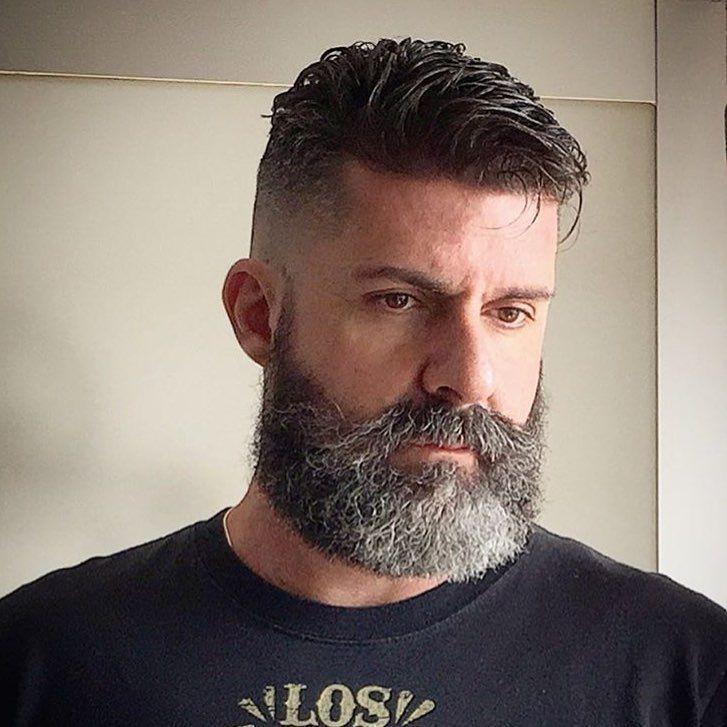 Full Beard With Handlebar Mustache 50 Nice Beard Styles For Men Masculine Facial Hair Estilos De Cabelo E Barba Cortr De Cabelo Masculino Cabelo Masculino