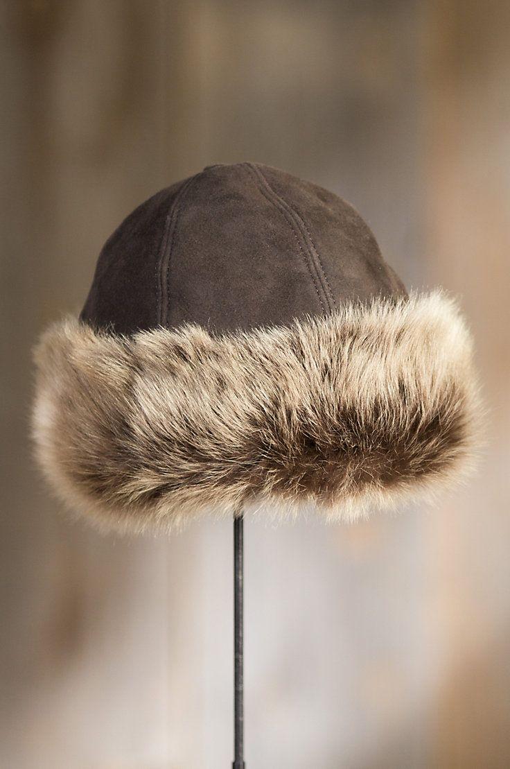0892ef64 Siberia Merino Sheepskin Cossack Hat with Toscana Trim | Sheepskin hats |  Hats, Cossack hat, Winter hats