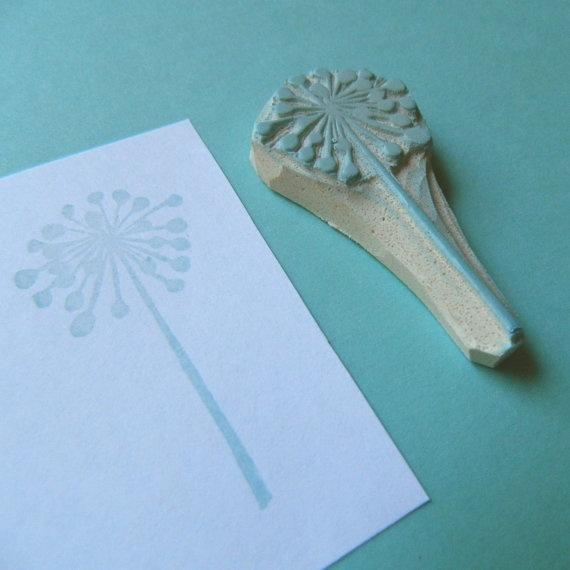 Dandelion stamp.