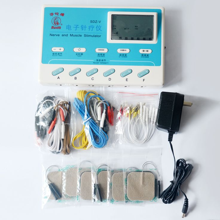 6 Independent Channels SDZV Electrical Stimulator Body