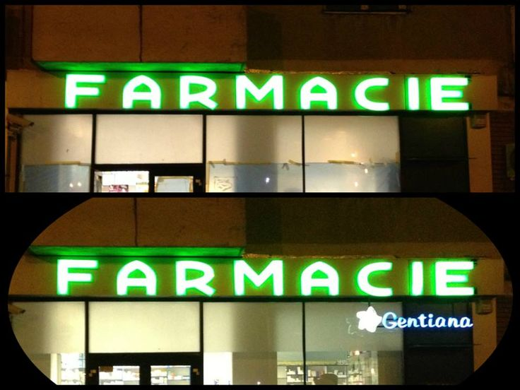 Outdoor volumetric LED letters