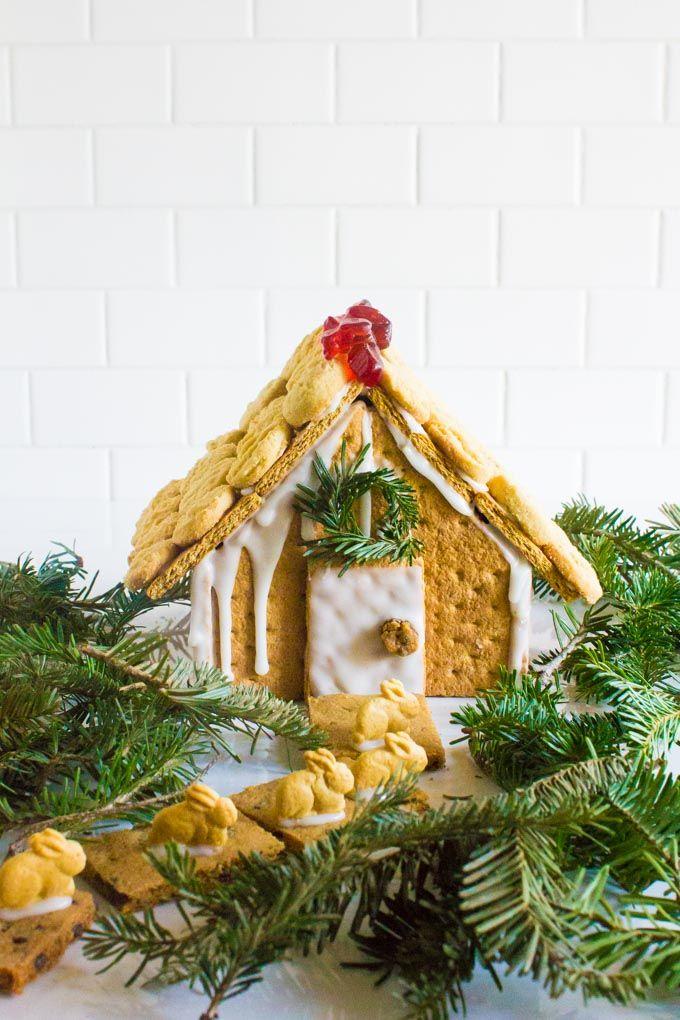 easy graham cracker gingerbread house | immaEATthat.com: