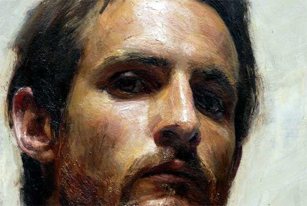 portrait detail. Robert Hannaford