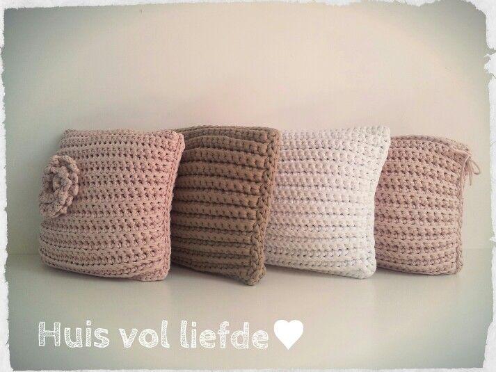 Gehaakte kussens # www.huisvolliefde.nl