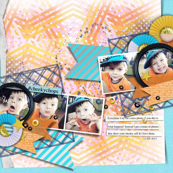 Curate It Vol.2 | Picture Framing for Digital Scrapbooking by The Nifty Pixel
