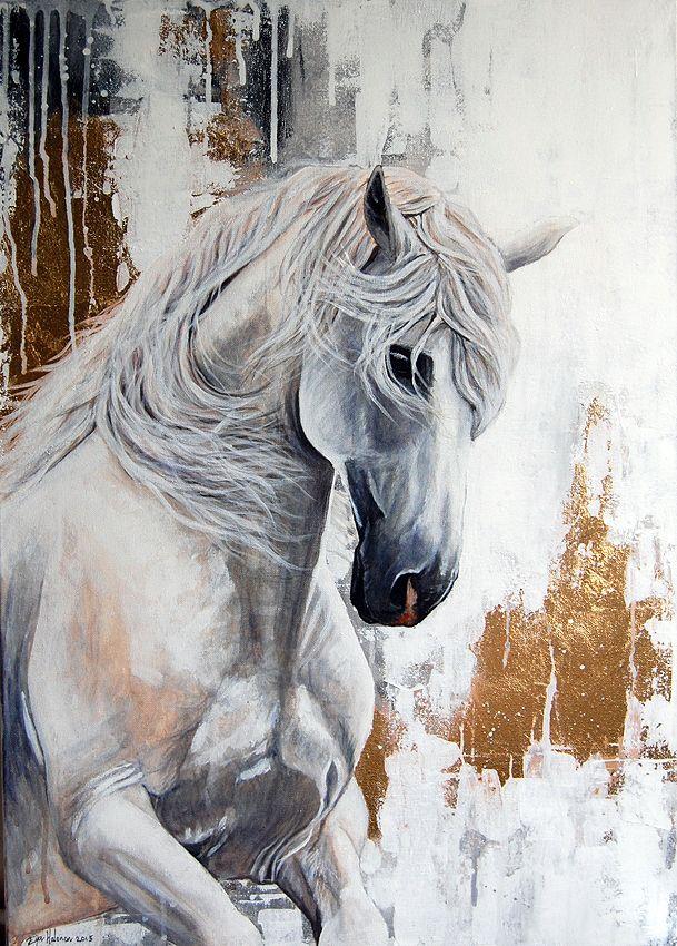 Acrylic painting, size 50cm x 70cm