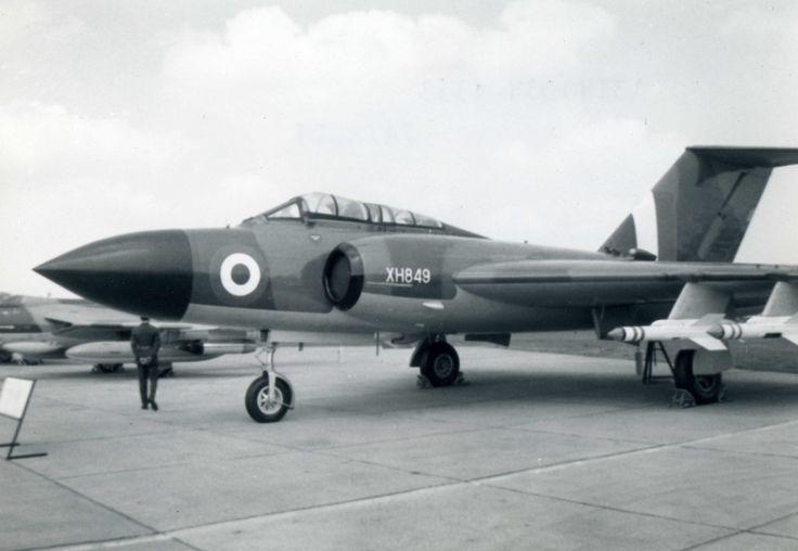 Gloster Javelin XH849 RAF Golden Jubilee Air Display RAF Abingdon 1968