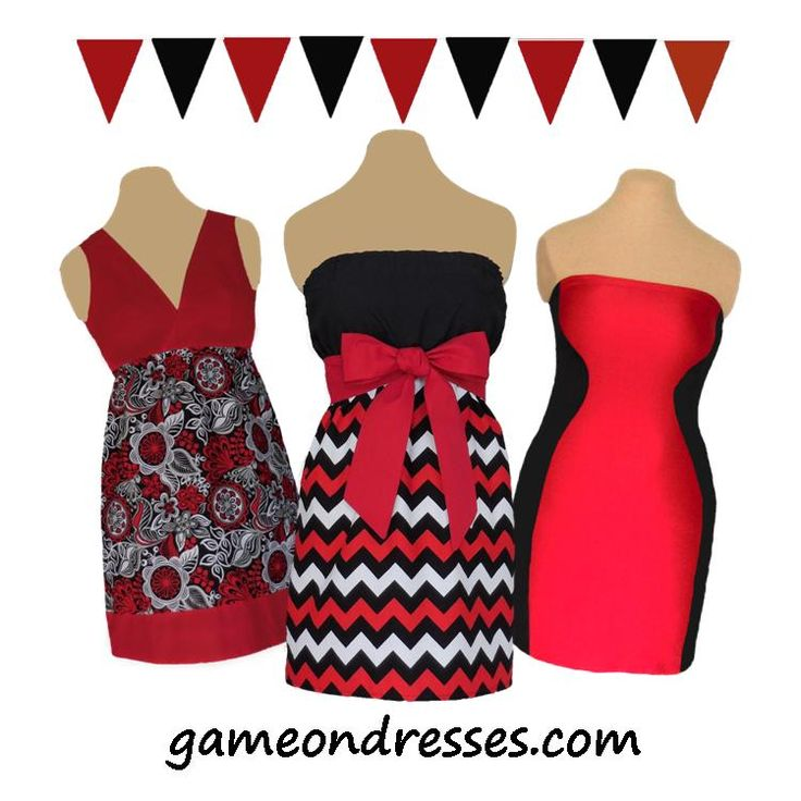 Get back to school rocking your school colors. Game on Dresses are great for game day, rush or any day! We have over 65 dresses in all the great school colors. Check out the fun game day accessories, too! www.gameondresses.com  Go Georgia!  Go Arkansas State!  Go Texas Tech!  Go Valdosta State!  Go San Diego State!  Go Northern Illinois!  Go Cincinnati!