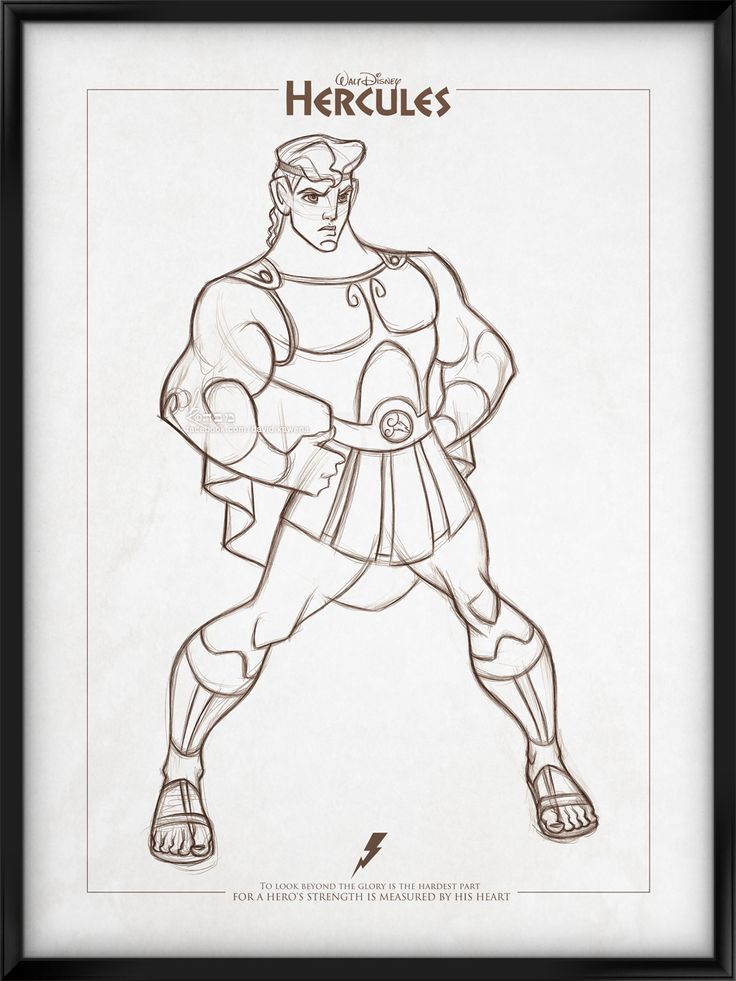 Walt Disney's Signature Collection - HERCULES by davidkawena.deviantart.com on @deviantART