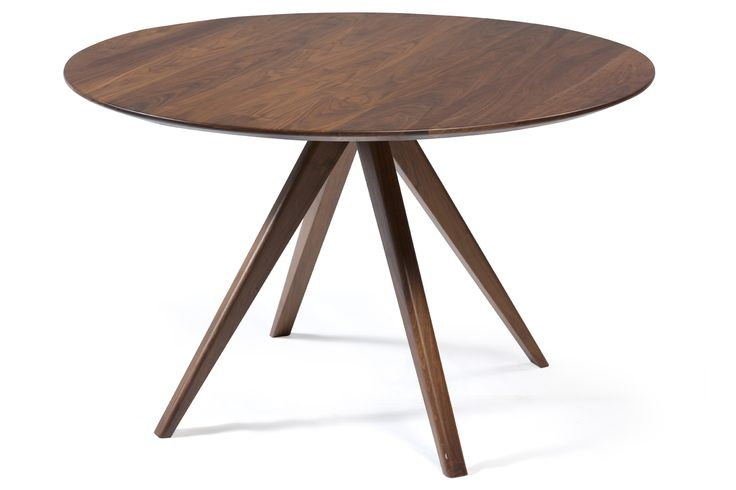 BOND table in massive walnut #NewClassic #StyleHome #DanishFurniture #HomeDecor #DanForm #ClassicFurniture #Walnut