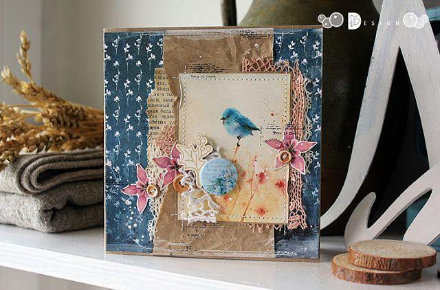 Design by Kristina Peshko: Серия открыток, навеянная летом.../ ДК Fluffy Duffy Design