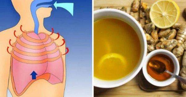 Guérir la toux et l'inflammation des poumons grâce à cette recette naturelle ~ Hors de vos pensés