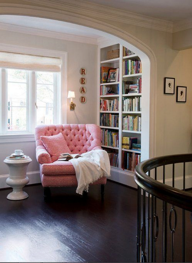 81 Cozy Home Library Interior Ideas Reading AreasReading