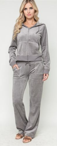 Girls Women Velour Tracksuit Jacket Pants Hoodie 3 Colors Jogging Yoga Sweatsuit | eBay