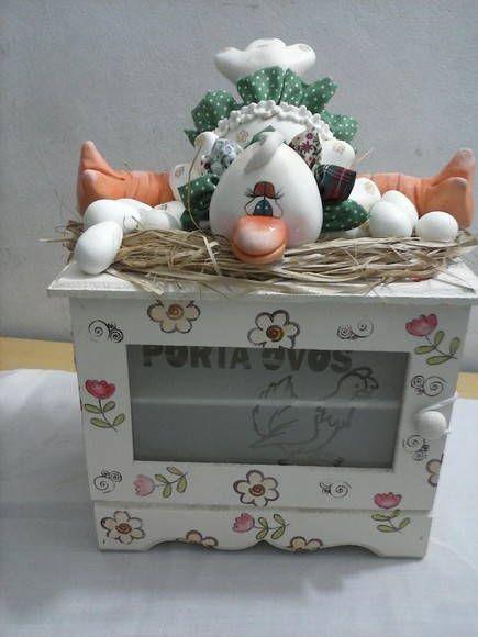 porta ovos em mdf