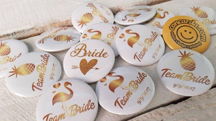 Κονκάρδες για bachelorette νύφης μόνο στο concarda.com!