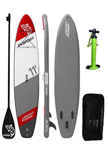 4a39ded64 DVSPORT 11  Inflatable Stand Up Paddle  Board ISUP Package Includes  Board