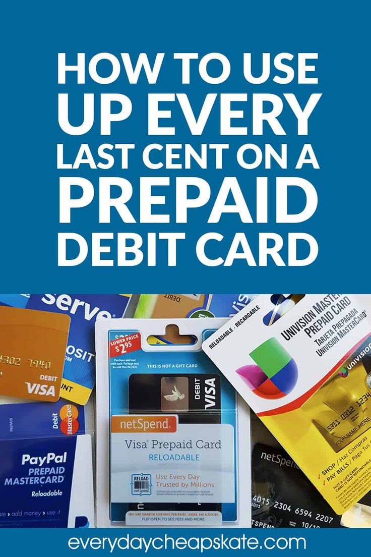 How to Use Up Every Last Cent on a Prepaid Debit Card