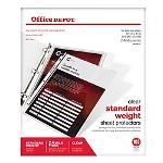 Office Depot Brand Clear Pockets 5 x 8 Pack Of 10 by Office Depot