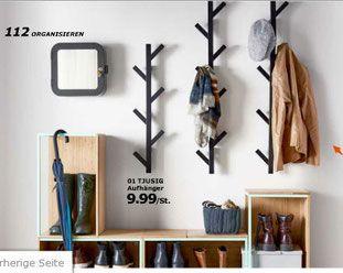 Neuer IKEA Katalog: Tjusig Aufhänger Garderobe