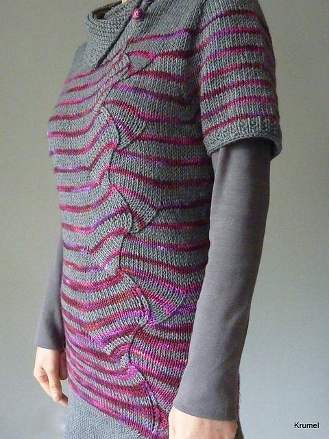 Ravelry: stripes with a twist pattern by atelier alfa