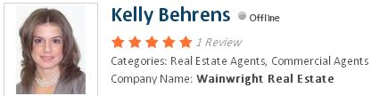 Kelly Behrens Real Estate Agents, Commercial Agents  Company Name: Wainwright Real Estate
