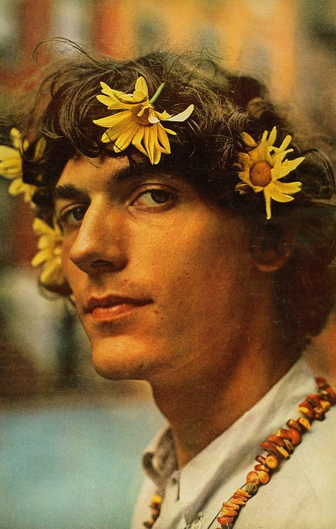 Flower Power  1967...I am pretty sure my husband would have looked like this if he was around in the 60s.