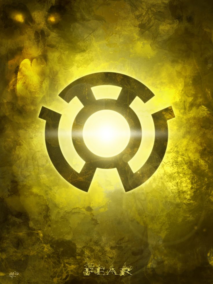 My 'Lantern Corps' logo series inspired by the DC universe of the Green Lantern. (Fear) by Digital Theory