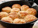 Ree Drummond is seeking cowboy approval on dishes for her deli menu, asking a trio of Osage's finest for feedback on some test recipes. There are rival Chicken Fried Steaks -- rib eye and regular -- both paired with Creamy Gravy. Then, it's a tasty toss-up as classic Biscuits are pitched against delicious Bacon and Onion Biscuits. And in a battle of the desserts, rich Chocolate Pie faces off against Double Chocolate Silk Pie.