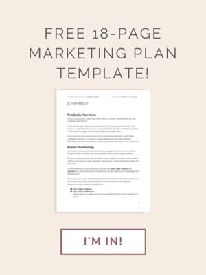 Las 25 mejores ideas sobre Marketing Plan Template en Pinterest - business action plan template