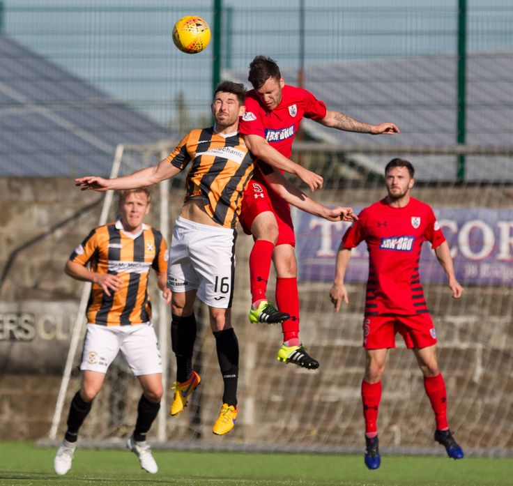 Queen's Park's Adam Cummins in action during the SPFL League One game between East Fife and Queen's Park.