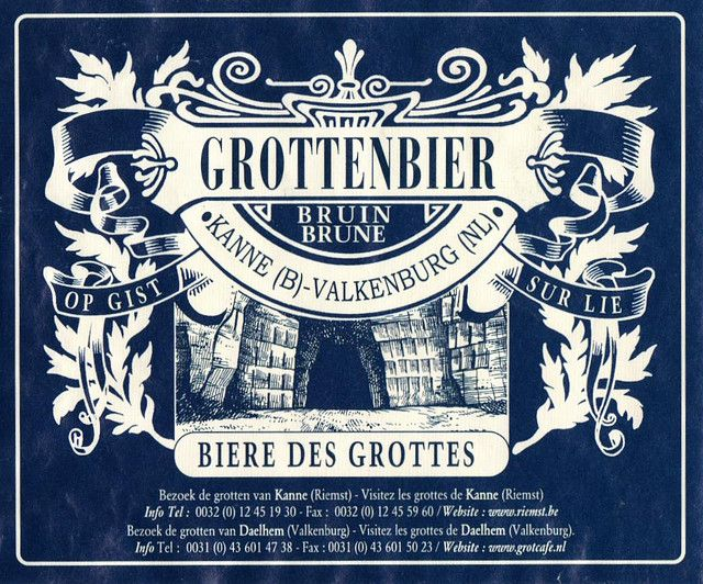 Beer of the week, Grottenbier Brune. Sunday brunch at 'The Occidental'. www.sintbernadus.be Image: www.eichfeld.de