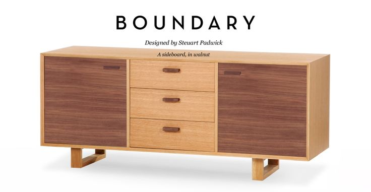 Boundary Sideboard in walnut | made.com