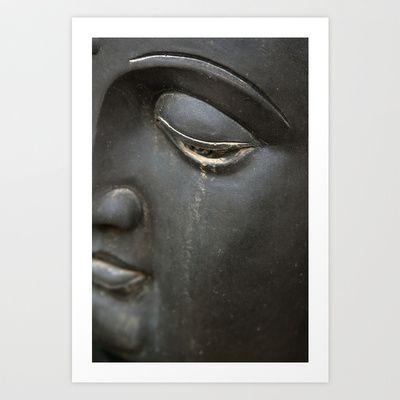 Crying buddha Art Print by dAnielles flow - $24.00