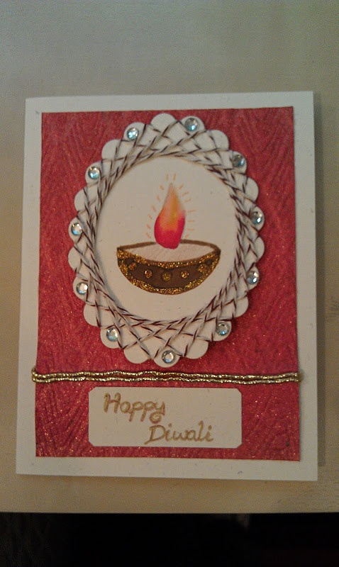 Card Making Ideas Diwali Part - 47: Diwali Card