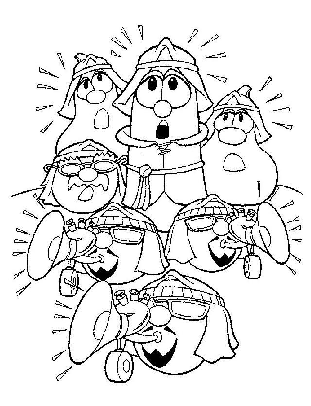 Veggie Tales Coloring Page Printable Coloring Pages Coloring Books Bible Coloring Pages
