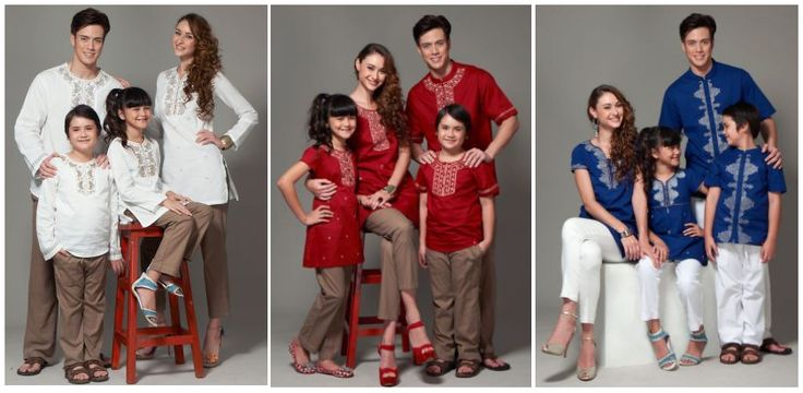Inspirasi Baju Lebaran 2014 Untuk Keluarga