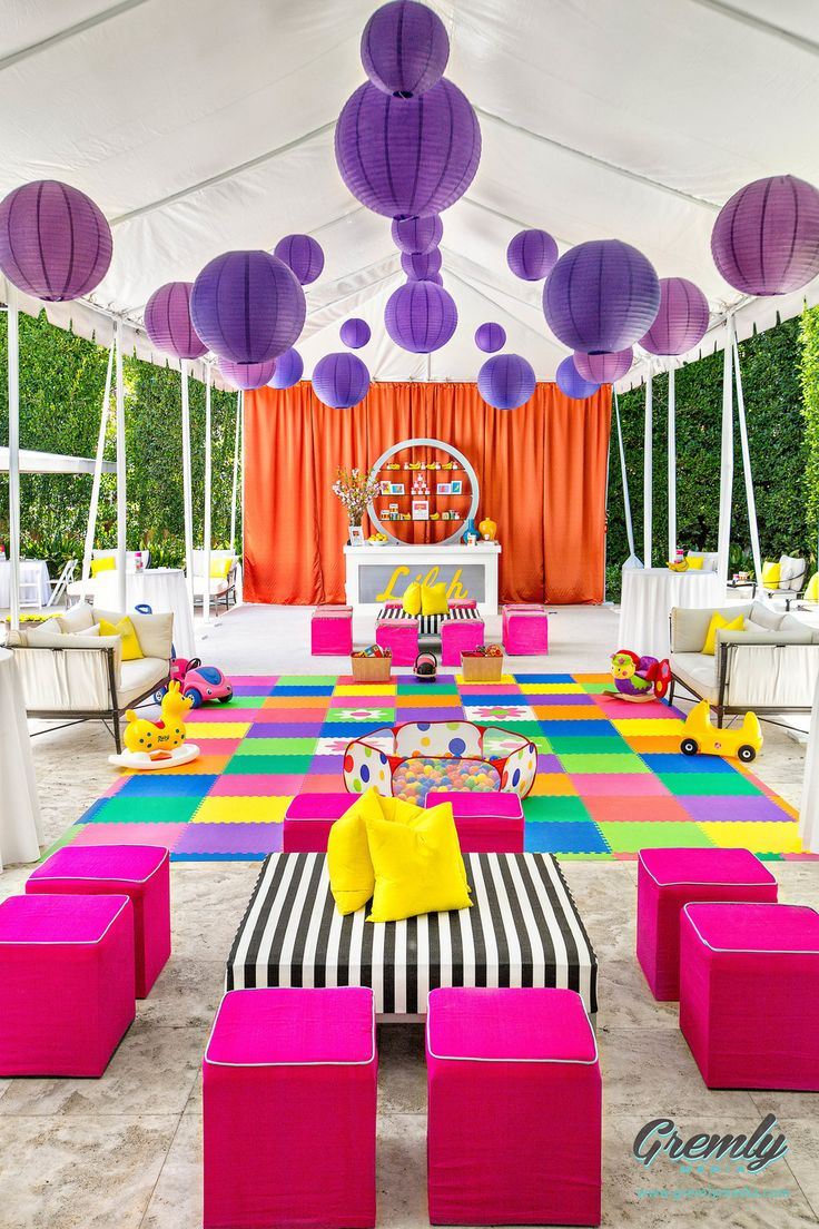 An Andy Warhol Pop Art Birthday Party