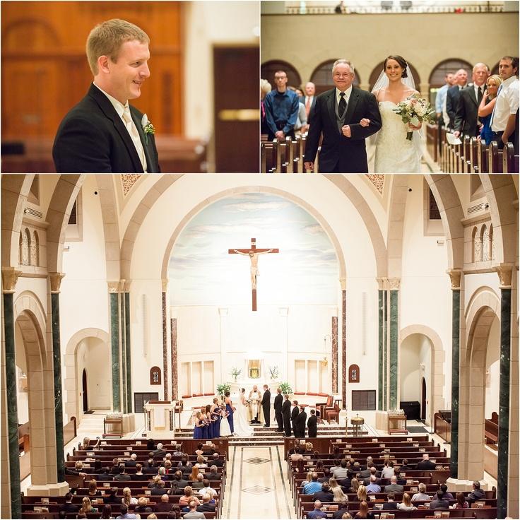 catholic church wedding, knoxville wedding photographer