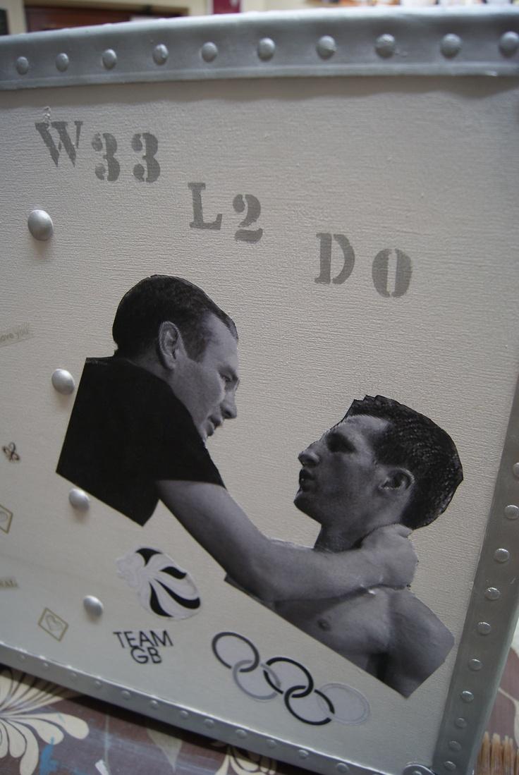 Mr McCracken - boxing legend along with Carl Froch
