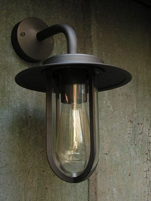 External Light - Wall Light Bronze Burgage