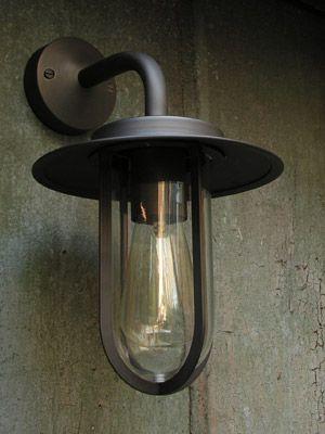External Light - Wall Light Bronze Burgage