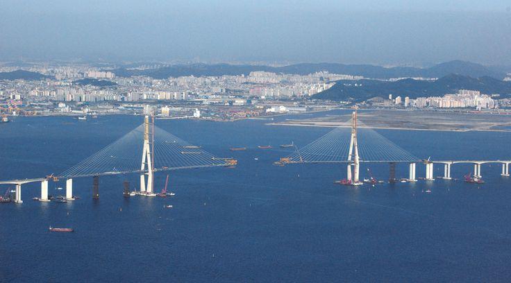 best bridges images bridges photo essay and incheon bridge south korea