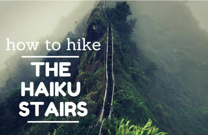 Since hiking the Haiku Stairs (or Stairway to Heaven) is technically illegal, it is difficult to find the entrance and to avoid the guard at the base of the