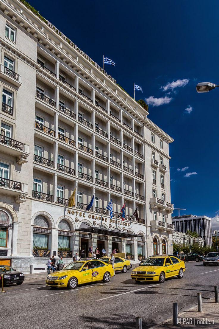 Hotel Grande Bretagne in Athens, Greece