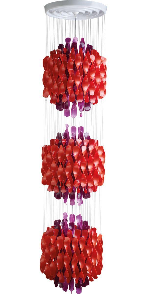 SPIRAL SP3 - Hanging lamp designed in 1969 by Verner Panton