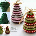 Christmas Tree Ornaments – Free Pattern