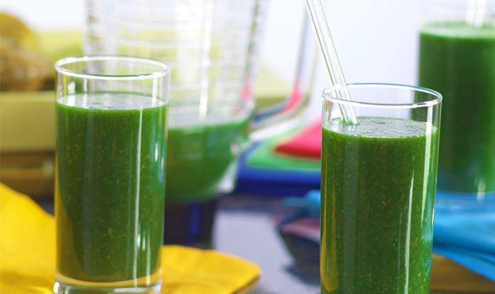 Clean Green Smoothie Recipe   #EatSmart